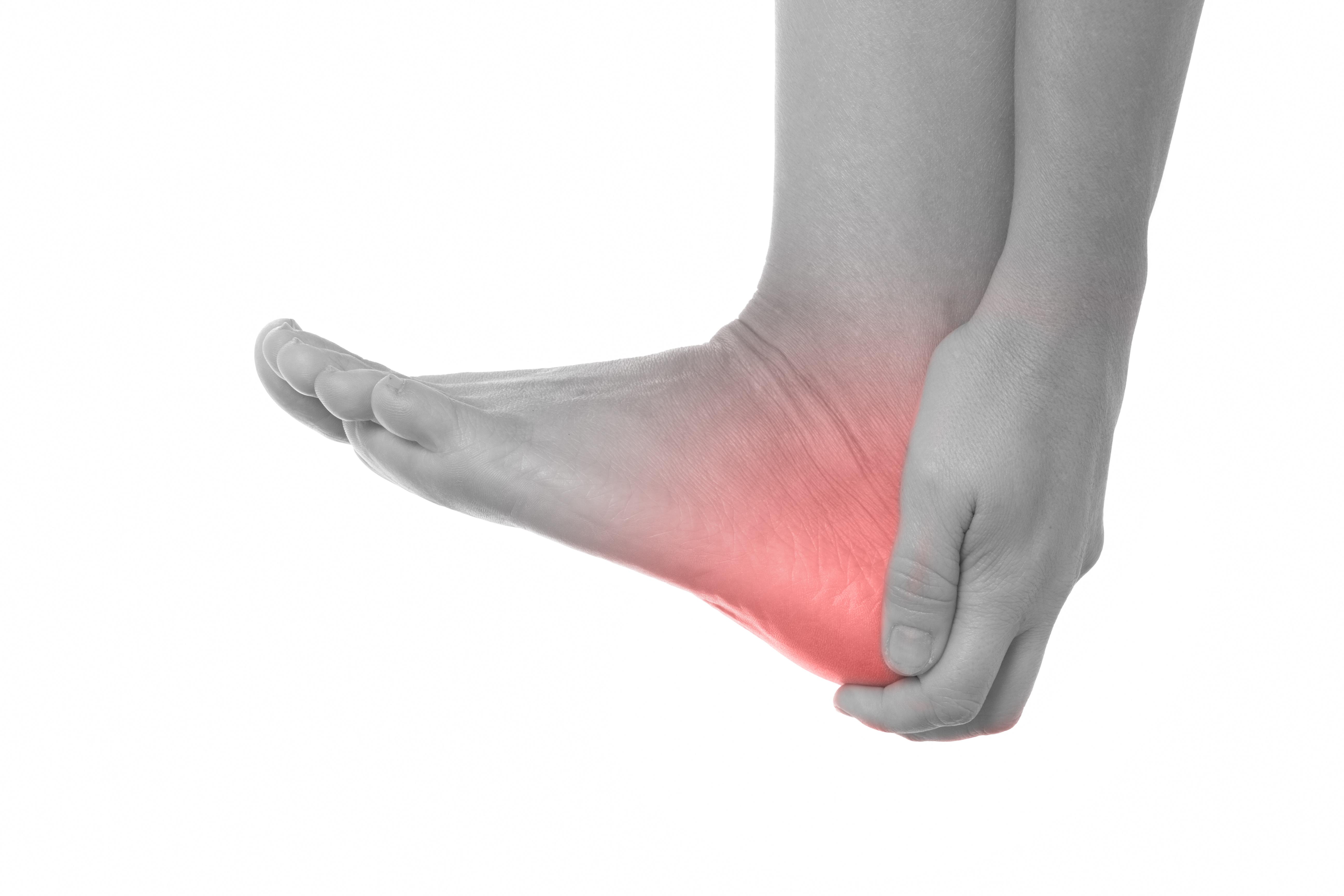 Fuß überbein schmerzen am Exostose (Überbein)